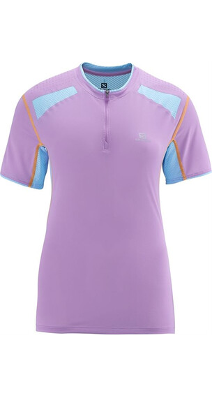 Salomon W's Ultra Trail Tee Orchid (L35952400)